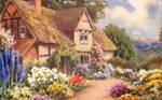 Cottage Postcard