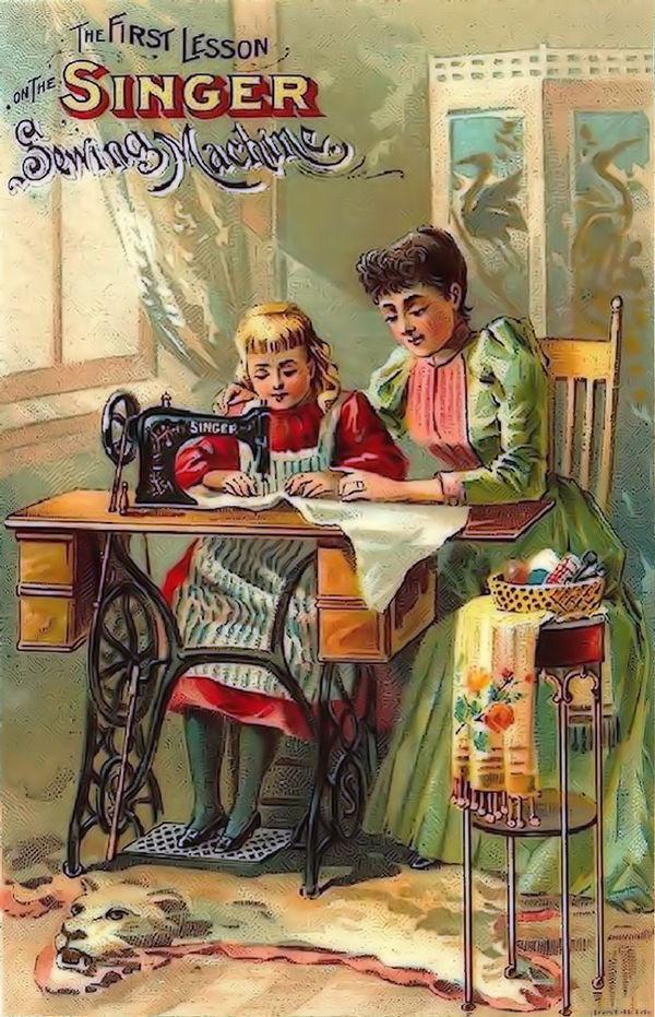 Художественное издание зингер открытки цена