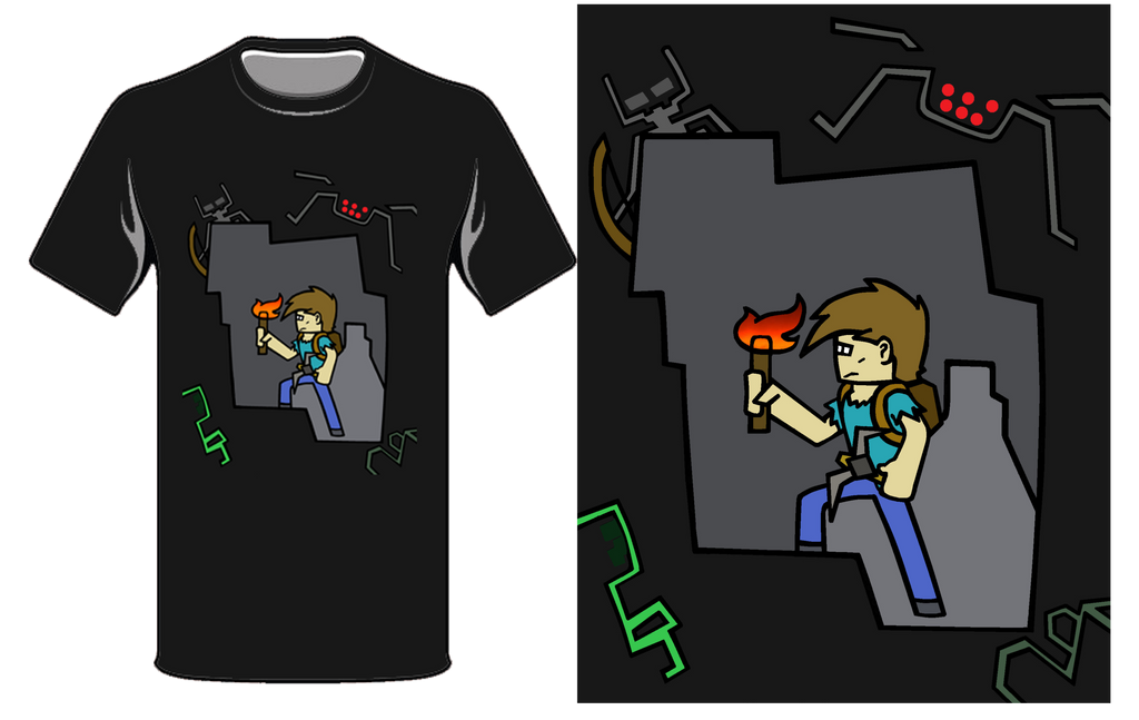In a Cave T-Shirt