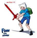Finn The Human By Raindante-d5gk43q