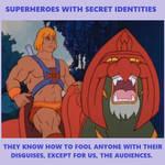 Meme-Superheroes With Secret Identities