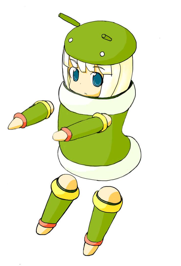 Android-Tan by panda180