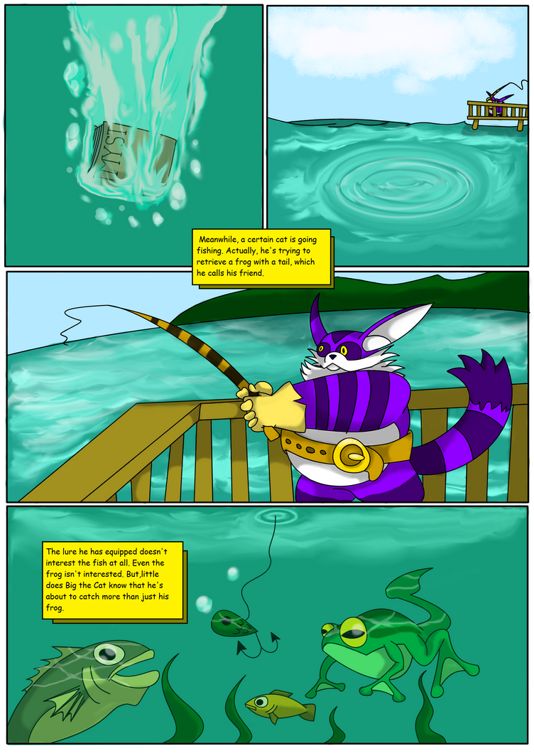 An Adventure to a Linked Age: Page 2 by The1stMoyatia