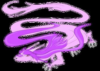 DragonArt Series: Sash Lilac by The1stMoyatia