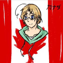 Canada[brush tool] by ShadowXenMaricat