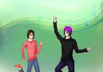 ~Pocky Dance~ by ShadowXenMaricat