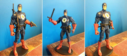 Custom Action Figure - Proud Soldier by WemblyFraggle
