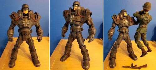 Custom Action Figure - Iron Oberst by WemblyFraggle