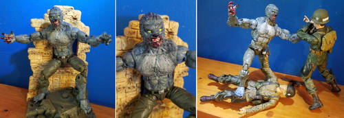 Custom Action Figure - Kriegswolf