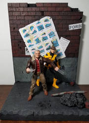 Action figure diorama - Days of Future Past