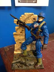 Custom Action Figure - Proud Citizen WW2