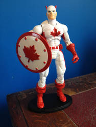 Custom Action Figure - Fighting Canadian
