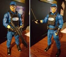Custom Action Figure - Crey Riot Guard
