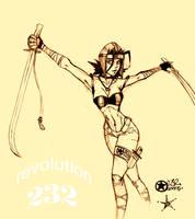 ninja girl ver o.2 by pokeburro
