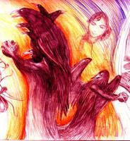 crows by pokeburro