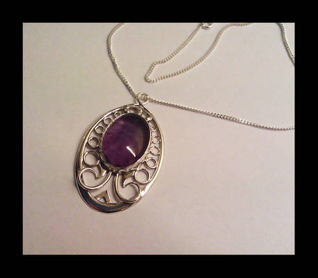 Pendant with Amethyst