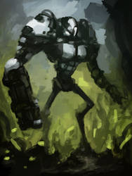 military mech by fossmno
