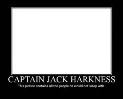 Captain Jack Harkness Poster by PsychoMonkeyShogun