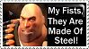 Team Fortress Heavy Stamp by PsychoMonkeyShogun