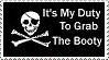 Pirate Stamp by PsychoMonkeyShogun