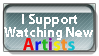 New Artist Stamp by PsychoMonkeyShogun