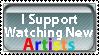 New Artist Stamp by PsychoMonkeyShogun
