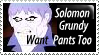 Solomon Grundy Stamp by PsychoMonkeyShogun