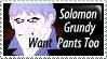 Solomon Grundy Stamp by PsychoMonkeyShogun