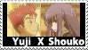 Yuji X Shouko Stamp by PsychoMonkeyShogun