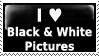 Black and White Stamp by PsychoMonkeyShogun