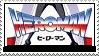 Heroman Stamp by PsychoMonkeyShogun