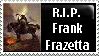 Frank Frazetta Stamp by PsychoMonkeyShogun