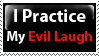 Evil Laugh Stamp by PsychoMonkeyShogun
