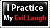 Evil Laugh Stamp by PsychoMonkeyShogun