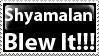 Last Airbender Spoiler Stamp by PsychoMonkeyShogun