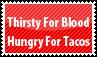 Taco Stamp by PsychoMonkeyShogun