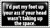 A Certain Sentiment by PsychoMonkeyShogun