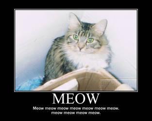 Meow Meow by PsychoMonkeyShogun