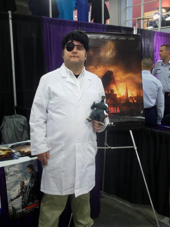 Dr. Daisuke Serizawa Cosplay by PsychoMonkeyShogun
