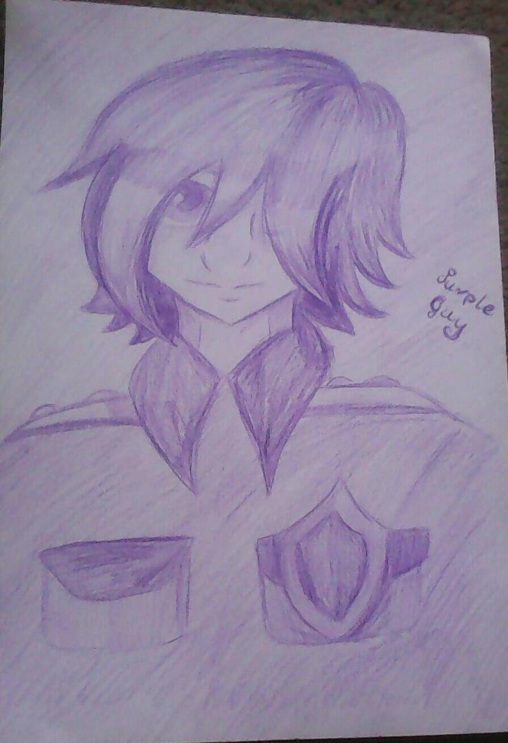 Purple guy ( Pole-Bear) by funtimeChica123