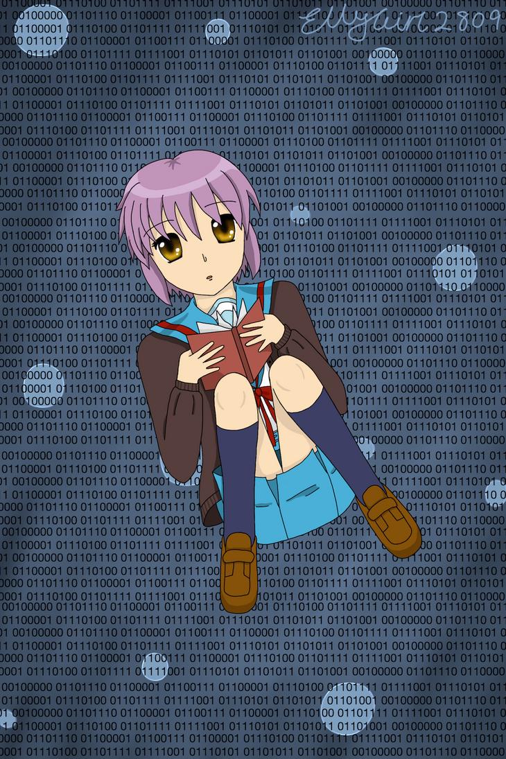 Yuki Nagato - Fan Poster by EllyGirl2809