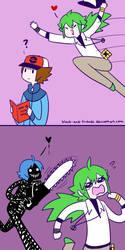 for doodlelover kinda :u by artist-black