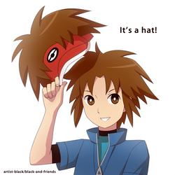 it's a hat by artist-black