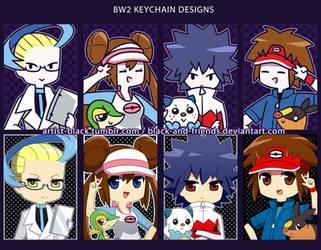 BW2 Keychain Designs by artist-black