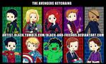 Avengers Keychain Designs v2