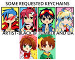 some requested keychains 2012