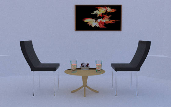 Table for 2 - Luxrender render