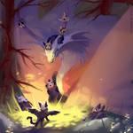 Featherfall's den