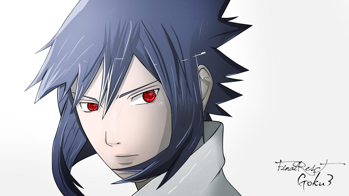 Sasuke Lineart : Sasuke lineart coloured by ljrlfinalrest on deviantart