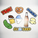Starprints Junk Food Stickers
